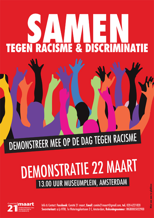 Samen Tegen Racisme & Discriminatie | Anarchistische Groep